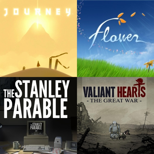 Player Too: Episode 7 – Journey, Flower, The Stanley Parable, Valiant Hearts