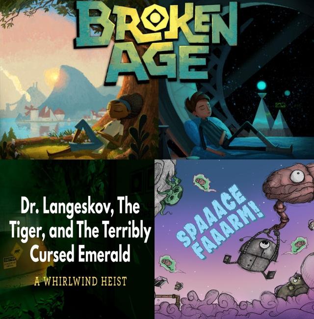 Player Too: Episode 5 – Broken Age, Dr.Langeskov, Snozbot's Text Adventure
