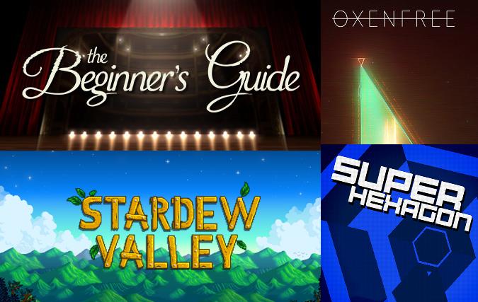 Player Too: Episode 8 – Stardew Valley, Oxenfree, The Beginner's Guide, Super Hexagon